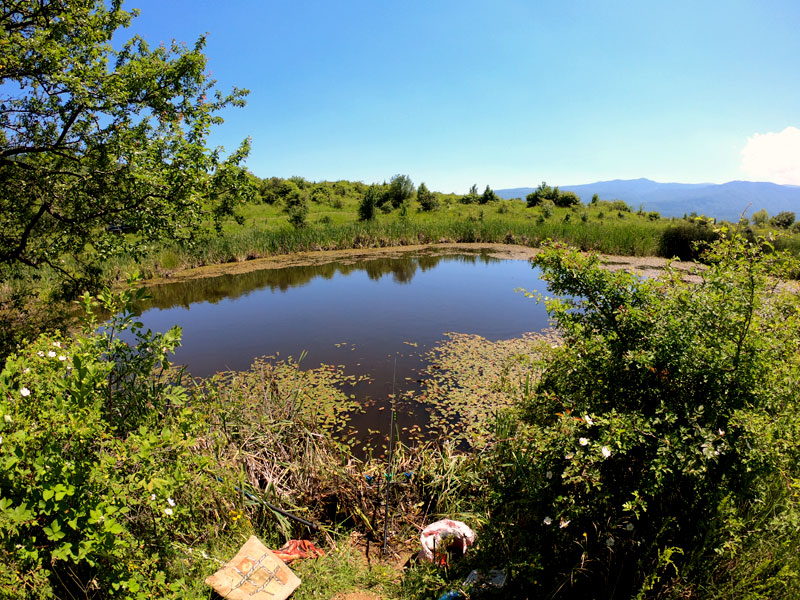 езеро в село Драгичево